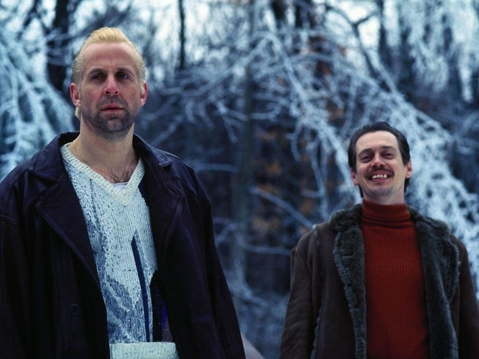 Peter Stormare and Steve Buscemi as the kidnappers for hire in 'Fargo'Rex