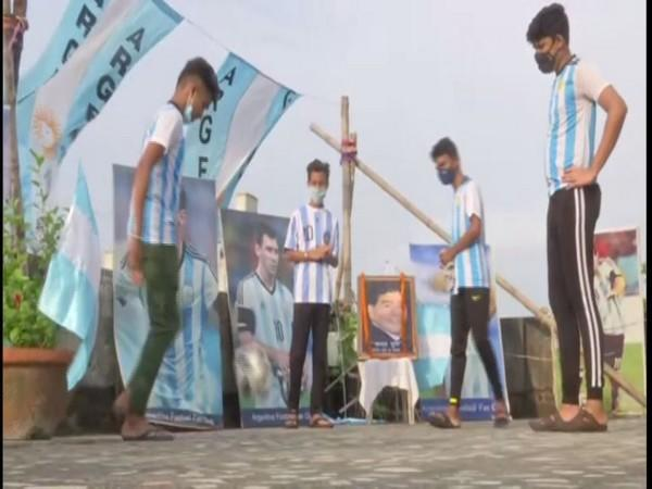 Argentina fans all geared up for Copa America clash in Kolkata