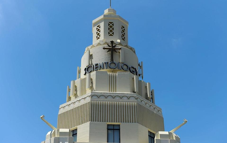 """<div class=""""inline-image__caption""""><p>A Church of Scientology building in Los Angeles, California</p></div> <div class=""""inline-image__credit"""">Kevork Djansezian/Getty</div>"""