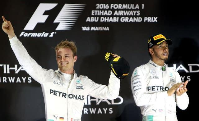 Nico Rosberg retired just days after beating Hamilton to the 2016 title (David Davies/PA)
