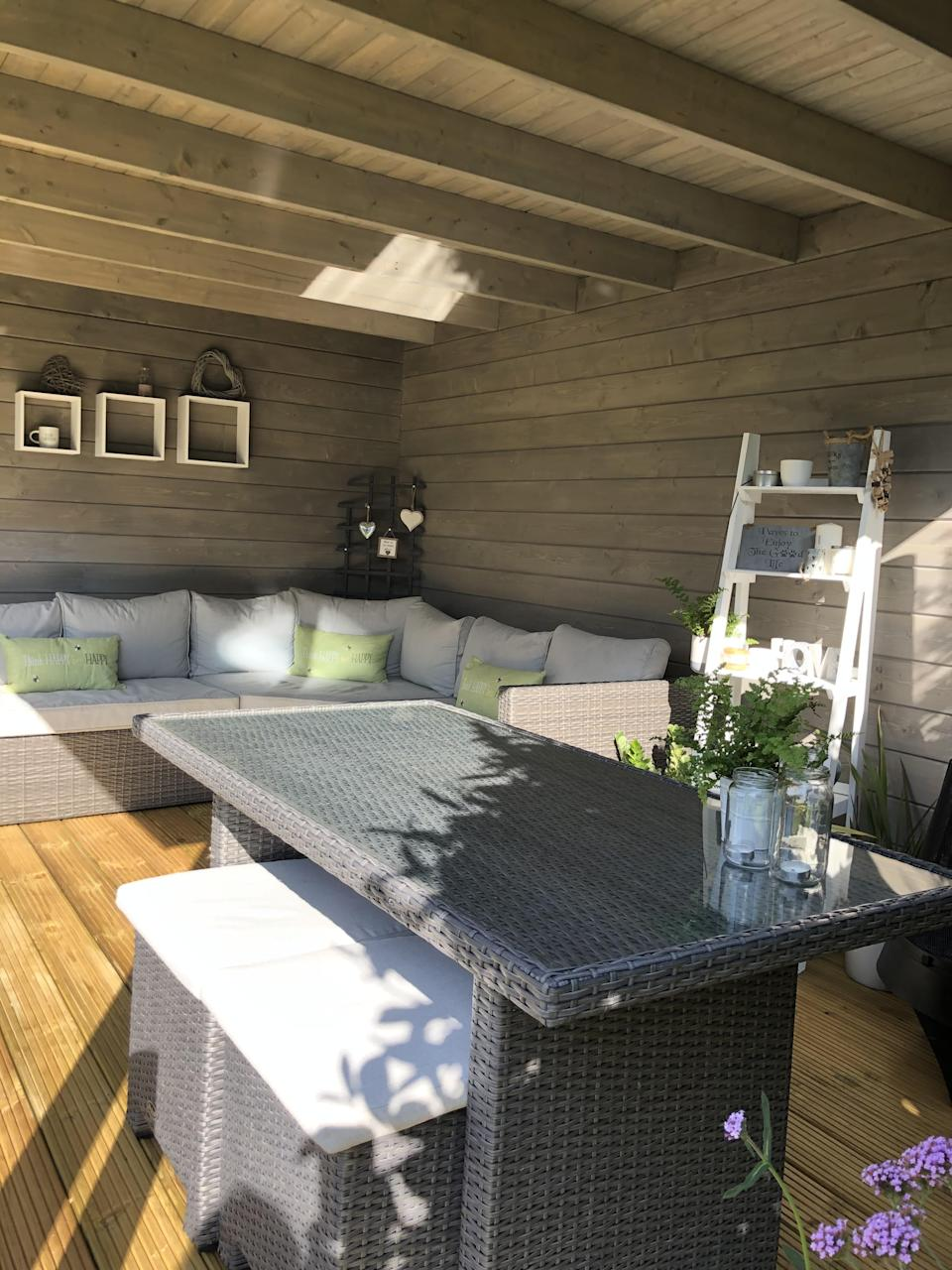 The space is a lovely place to shade from the sun. (Supplied latestdeals.co.uk)