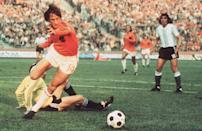 Johan Cruyff, Ferenc Puskas, Paulo Maldini and a young Lionel Messi all feature on Gary Parkinsons list of the great teams that couldve gone all the way to World Cup glory, yet failed to do so