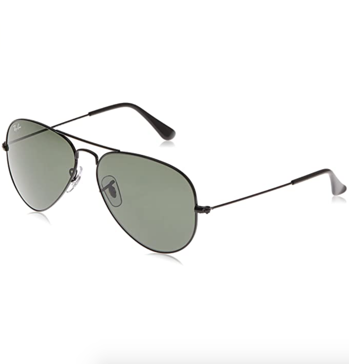 """<p><strong>Ray-Ban</strong></p><p>amazon.com</p><p><strong>$161.38</strong></p><p><a href=""""https://www.amazon.com/dp/B005G08N9E?tag=syn-yahoo-20&ascsubtag=%5Bartid%7C2139.g.37612148%5Bsrc%7Cyahoo-us"""" rel=""""nofollow noopener"""" target=""""_blank"""" data-ylk=""""slk:BUY IT HERE"""" class=""""link rapid-noclick-resp"""">BUY IT HERE</a></p><p>Ray-Ban Aviators are such a classic—even <a href=""""https://www.wsj.com/articles/joe-bidens-aviators-a-fashion-and-political-statement-11597872299"""" rel=""""nofollow noopener"""" target=""""_blank"""" data-ylk=""""slk:the president loves them"""" class=""""link rapid-noclick-resp"""">the president loves them</a>. Treat the style icon in your life to a pair that they can wear for literal years and still look cool as hell.</p>"""