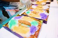 """<p>People like to pit Joe Gambino's against Haydel—which we only see as proof it's good enough to fight for. New Orleanians have called this spot the """"King of King Cakes"""" in 1949, and the title lives on. You can tack on any number of accessories to your cake order: beads, cake toppers, masks, boas, and extra plastic babies.</p><p><a class=""""link rapid-noclick-resp"""" href=""""https://gambinos.com/shop/king-cakes"""" rel=""""nofollow noopener"""" target=""""_blank"""" data-ylk=""""slk:ORDER TODAY"""">ORDER TODAY</a> </p>"""