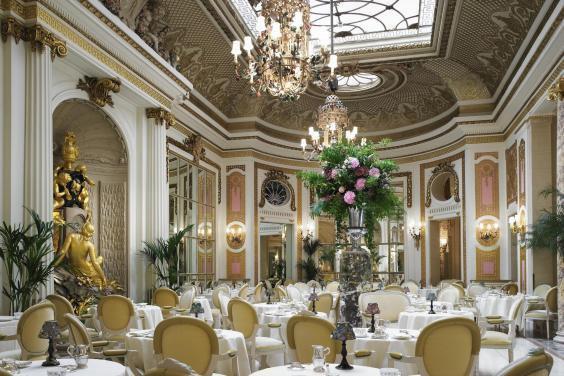 The Ritz: classic service in a busy tearoom (The Ritz)