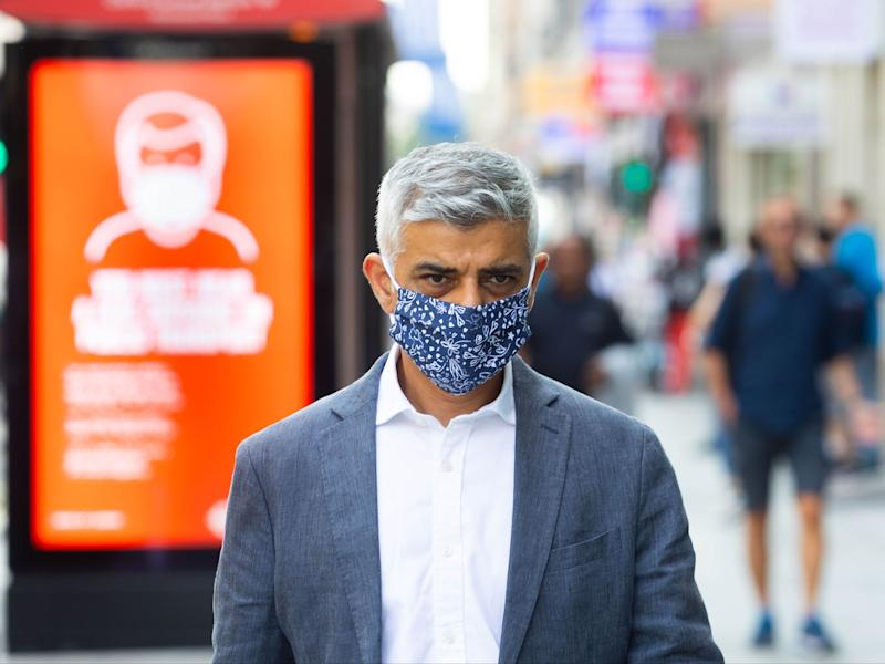 Mayor Sadiq Khan is considering new London-specific rulesPA