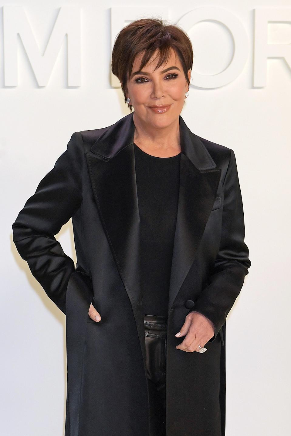 Jenner has one of the most iconic pixie cuts in the biz, and for a good reason. The side-swept bangs emphasize her features and the length is just long enough to be versatile.