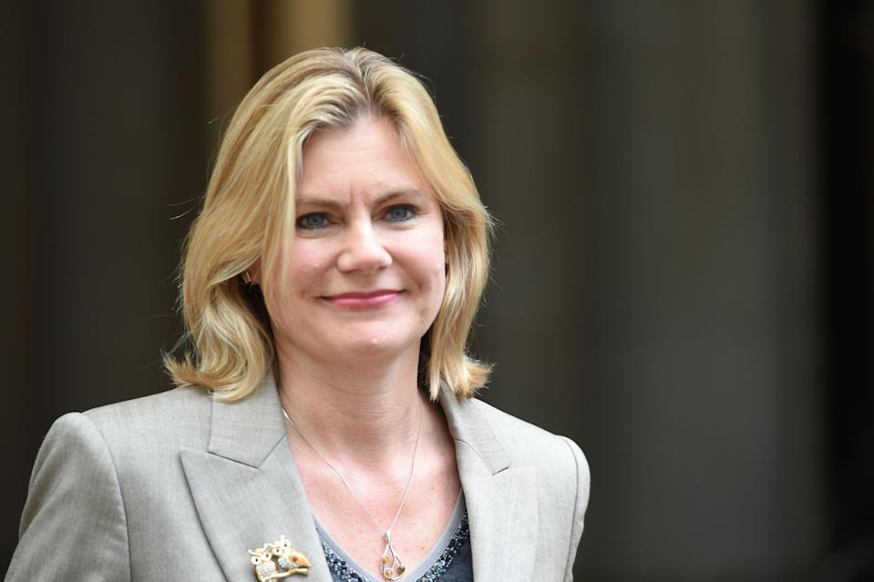Former education secretary Justine Greening (Picture: PA)