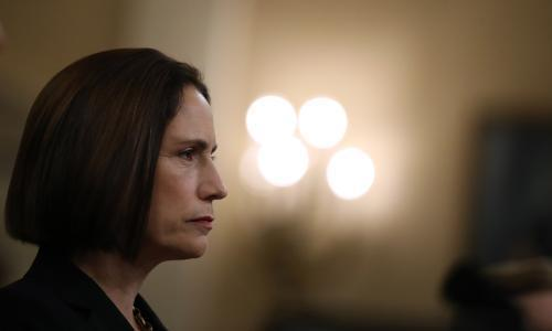 Fiona Hill rebukes conspiracy theory – and emerges as a heroine for our times