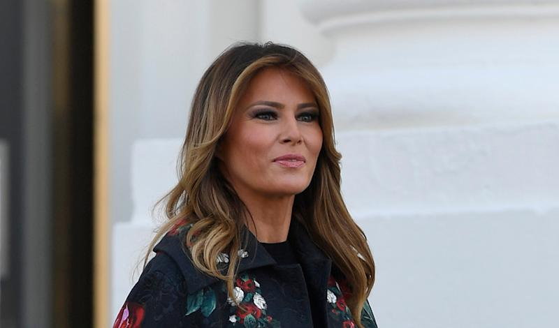 Melania Trump receives official White House Christmas tree
