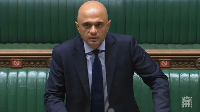 Health Secretary Sajid Javid said the approach would reinforce the vaccine wall of defence even further (PA Wire/PA Images)