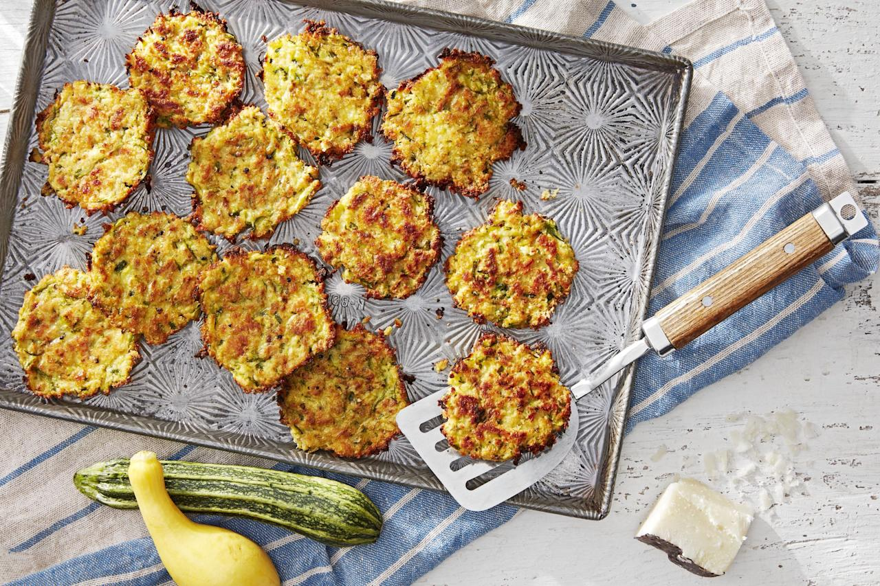 """<p>Looking for a few fun ways to add <a href=""""https://www.countryliving.com/food-drinks/g4288/healthy-dinner-recipes/"""">some veggies</a> to your summer meals? These zucchini recipes will help you accomplish that—and then some. Whether you want to feature these <a href=""""https://www.countryliving.com/food-drinks/g4378/summer-salad-recipes/"""">green goddesses</a> as the show-stopping <a href=""""https://www.countryliving.com/food-drinks/g648/quick-easy-dinner-recipes/"""">main dish</a>, serve them as a delicious, unforgettable side at<a href=""""https://www.countryliving.com/food-drinks/g31/best-grilling-recipes/""""> your next barbecue</a>, or sneak them into your kids' dessert to give them a boost of healthy nutrients (we won't tell!), we have a feeling you'll find at least one recipe on our list that'll fit the bill. Haven't spent much time cooking with zucchini before? You're in for a treat. This supercharged <a href=""""https://www.countryliving.com/food-drinks/g1151/best-barbecue-sauces/"""">summer staple</a> can be cooked and enjoyed in a plethora of different ways, and it's bound to change your summer produce game for good. From classic recipes like zucchini fritters with chili lime mayo to more newfangled options (zucchini cookies with <a href=""""https://www.countryliving.com/food-drinks/g4370/buttercream-frosting-recipes/"""">brown butter cream cheese frosting</a>, anyone?), you'll be surprised at the variety of flavors and textures you can elicit from this one magical, green or yellow vegetable.  And if you're trying to make use of leftover produce, we've also included a few fun options that feature zucchini as the finishing touch: <a href=""""https://www.countryliving.com/food-drinks/g1487/pasta-recipes/"""">spaghetti with roasted zucchini </a>and fish tacos with zucchini, to name just a few. </p>"""