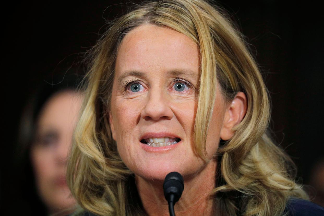 During a separate exchange, Sen. Dick Durbin (D-Ill.), asked Blasey, &ldquo;Dr. Ford, with what degree of certainty do you believe Brett Kavanaugh assaulted you?&rdquo;<br><br>&ldquo;100 percent,&rdquo; she responded.