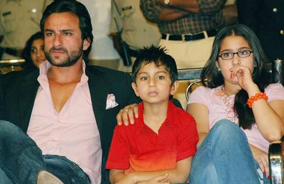 "<span><div> 						  							Saif Ali Khan  						<p style=""text-align:justify;""> 							Although Saif's love life hasn't been very consistent, his love  for his children seems unwavering. He was married to the popular &  older Bollywood actress Amrita Singh who bore two kids for him - Sarah  Ali Khan and Ibrahim Ali Khan. Though, Saif is dating Kareena Kapoor now  he makes sure he meets his kids regularly and is also making sure that  Kareena has a good rapport with them before taking a big step like  marriage.</p> 					</div></span>"