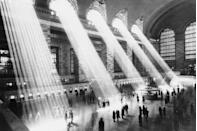 """<p>Beams of sunlight streaming through the windows at <a href=""""https://www.tripadvisor.com/Attraction_Review-g60763-d103371-Reviews-Grand_Central_Terminal-New_York_City_New_York.html"""" rel=""""nofollow noopener"""" target=""""_blank"""" data-ylk=""""slk:Grand Central Station"""" class=""""link rapid-noclick-resp"""">Grand Central Station</a>.</p>"""