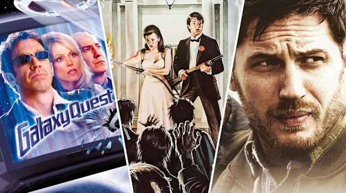 Galaxy Quest, The Night of the Creeps, The Drop.