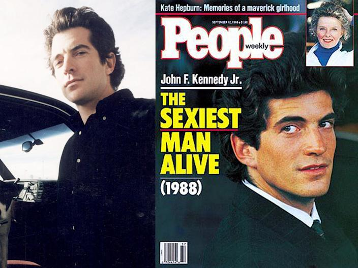 jfk jr people sexiest man