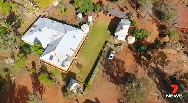 Police have scaled back the search of the family property. Source: 7 News