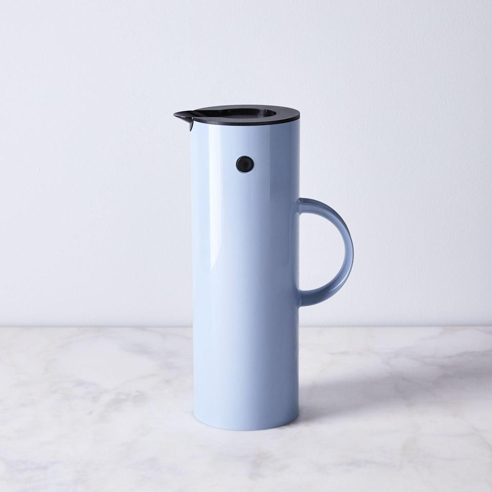 <p>The smart <span>Food52 x Stelton Erik Magnussen Vacuum Jug</span> ($85) is a thermos and jug all in one. They can take whatever they need on the go without worrying about a spill because it features a smart magnetized top.</p>