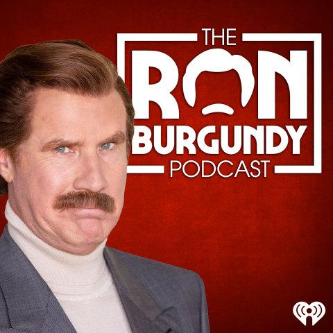 "Ron Burgundy Finally Figures Out What a Podcast Is— Just in Time to Launch ""The Ron Burgundy Podcast"" with iHeartRadio Co-Produced by Funny Or Die"