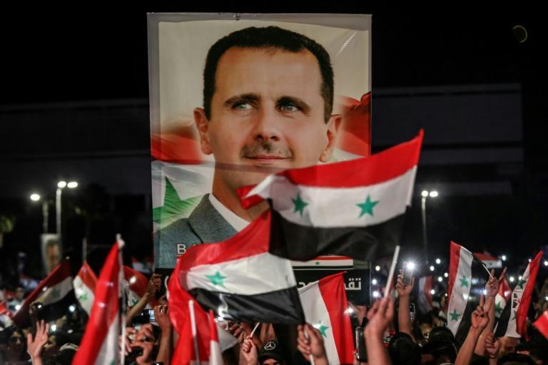 Bashar al-Assad has been selected to a fourth term with an overwhelming majority, according to official results