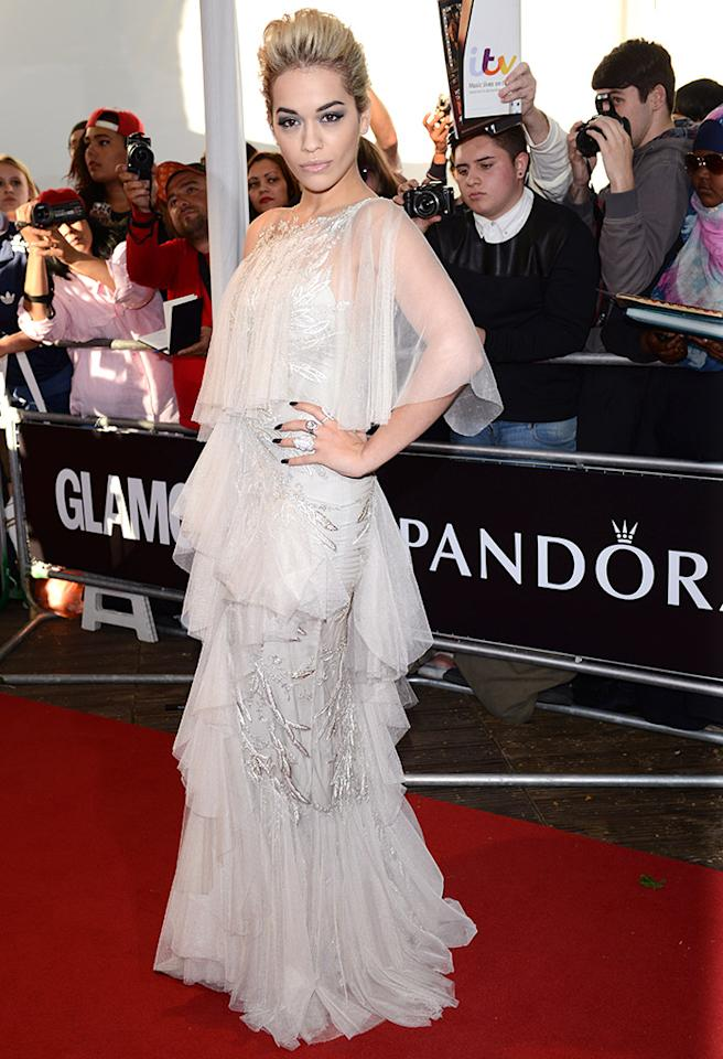 LONDON, ENGLAND - JUNE 04:  Rita Ora attends the Glamour Women of the Year Awards 2013 at Berkeley Square Gardens on June 4, 2013 in London, England.  (Photo by Karwai Tang/Getty Images)