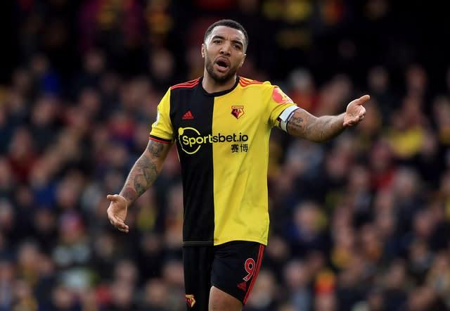 Watford forward Troy Deeney is not prepared to return to training (Mike Egerton/PA)