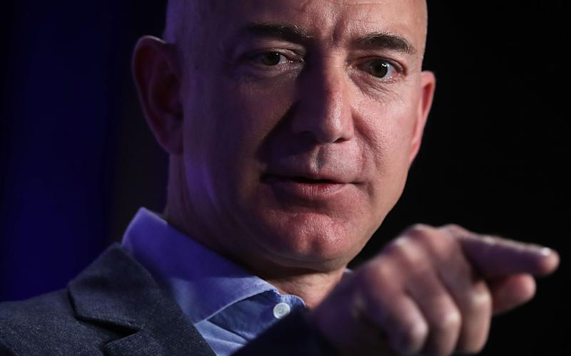 Amazon boss Jeff Bezos - 2016 Getty Images