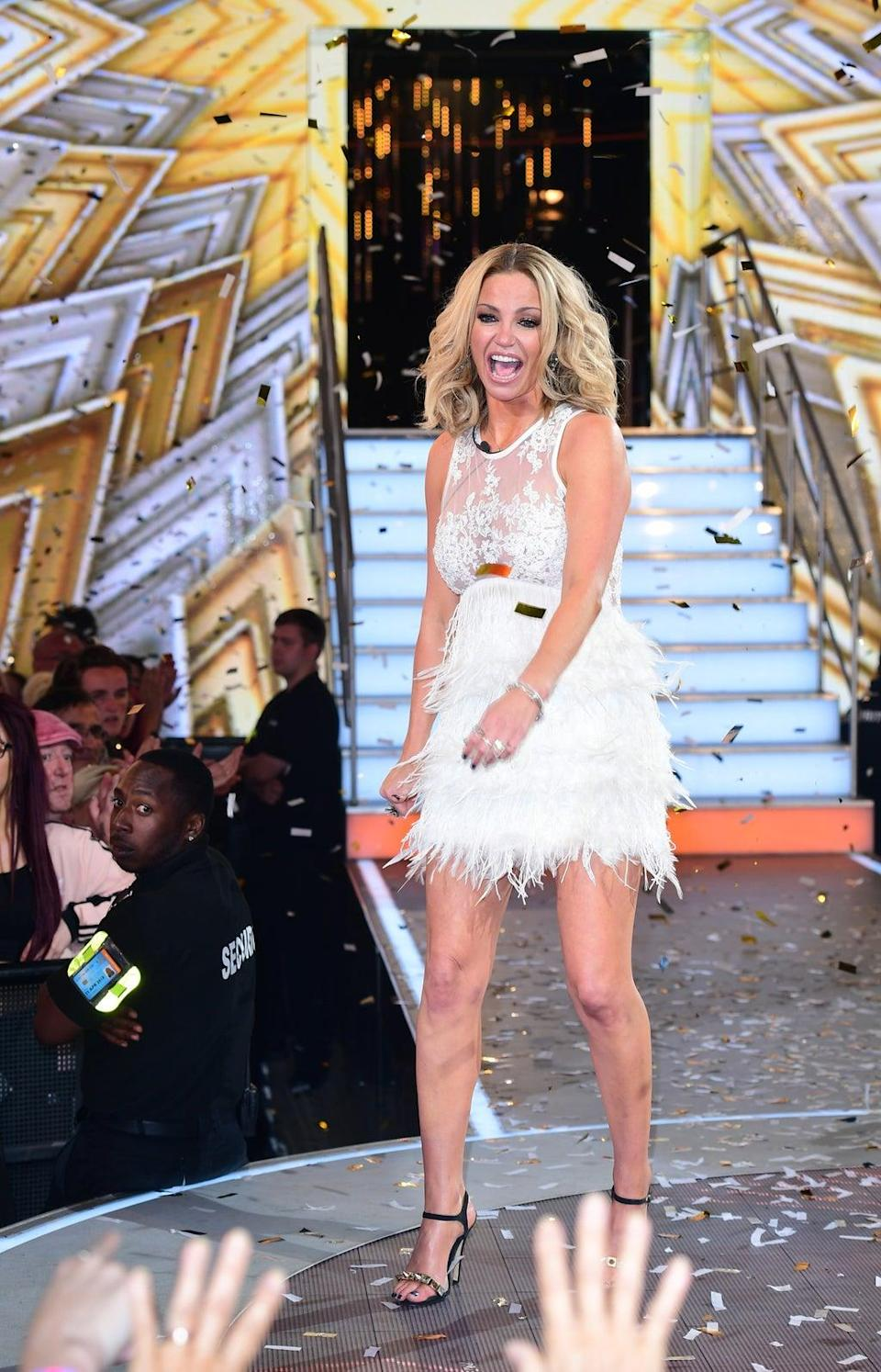 Sarah Harding won Celebrity Big Brother in 2017 (Ian West/PA) (PA Archive)
