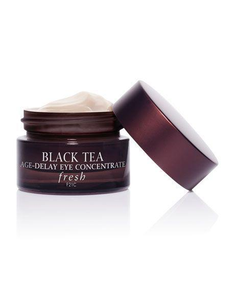"""<p><strong>FRESH Black Tea Age Delay Eye Concentrate</strong></p><p>neimanmarcus.com</p><p><strong>$68.00</strong></p><p><a href=""""https://go.redirectingat.com?id=74968X1596630&url=https%3A%2F%2Fwww.neimanmarcus.com%2Fprod168090171_cat11210732__%2Fp.prod&sref=https%3A%2F%2Fwww.harpersbazaar.com%2Fbeauty%2Fskin-care%2Fg19738338%2Fbest-skin-care-brands%2F"""" rel=""""nofollow noopener"""" target=""""_blank"""" data-ylk=""""slk:SHOP"""" class=""""link rapid-noclick-resp"""">SHOP</a></p><p>Fresh focuses on familiar food ingredients—like soy, sugar, black tea—to brand their line of cleansers, serums, creams, lip balms, and masks. The Black Tea line is rich in antioxidants and ideal for adding to an anti-aging routine. This top-rated eye cream combines tea with noni extract to noticeably lighten dark circles and flatten eye bags. </p>"""