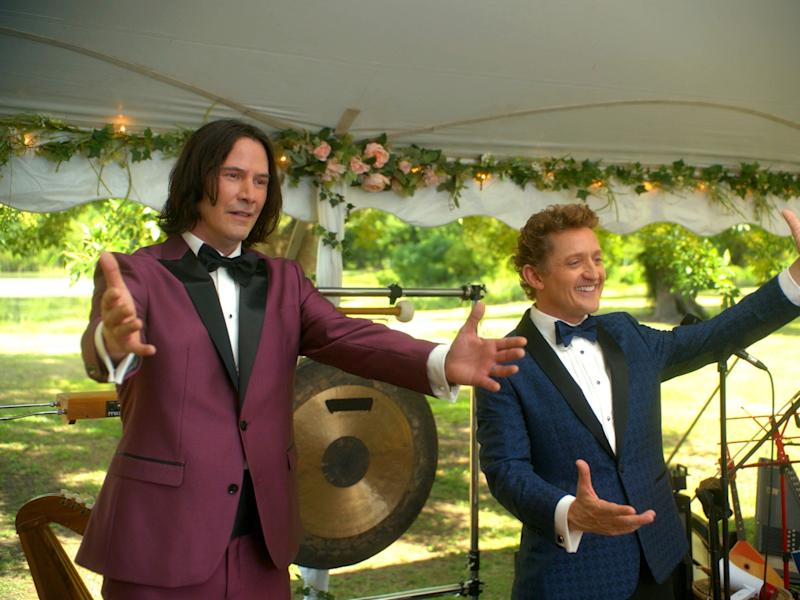 'We could all do with a little dose of Bill and Ted's optimism'AP