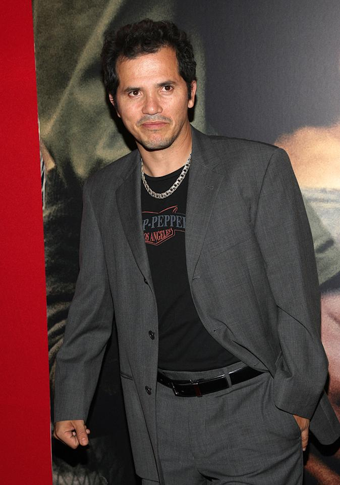 "<a href=""http://movies.yahoo.com/movie/contributor/1800019418"">John Leguizamo</a> at the New York City premiere of <a href=""http://movies.yahoo.com/movie/1809947151/info"">Miracle at St. Anna</a> - 09/22/2008"