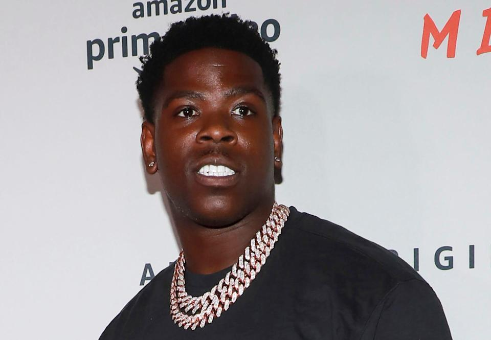 "In this Aug. 1, 2019 file photo, Casanova attends the world premiere of Amazon Prime Video's ""Free Meek"" limited documentary series in New York."