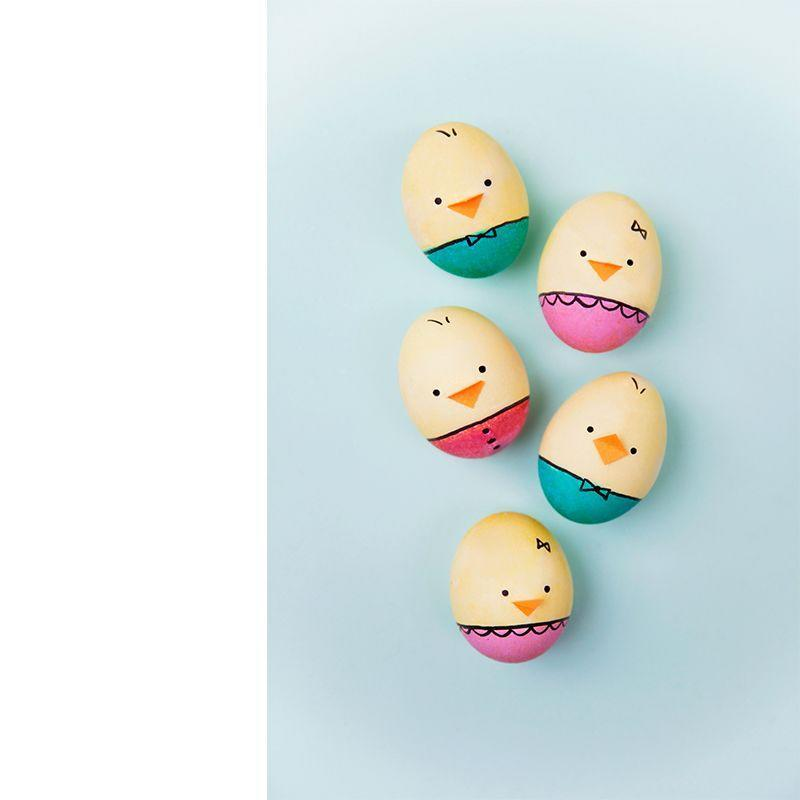 "<p>Cheep and chirp for these adorable baby chick eggs, that can easily be made with some food dye and a permanent marker.</p><p><em>Get the tutorial at <a href=""https://tellloveandparty.com/2018/03/diy-baby-chick-eggs.html"" rel=""nofollow noopener"" target=""_blank"" data-ylk=""slk:Tell Love and Party."" class=""link rapid-noclick-resp"">Tell Love and Party.</a> </em></p><p><strong>_________________________________________________________</strong></p><p><em>Want more crafts? You're in luck! <a href=""https://subscribe.hearstmags.com/subscribe/womansday/253396?source=wdy_edit_article"" rel=""nofollow noopener"" target=""_blank"" data-ylk=""slk:Subscribe to Woman's Day"" class=""link rapid-noclick-resp"">Subscribe to Woman's Day</a> today and get <strong>73% off your first 12 issues</strong>. And while you're at it, <a href=""https://subscribe.hearstmags.com/circulation/shared/email/newsletters/signup/wdy-su01.html"" rel=""nofollow noopener"" target=""_blank"" data-ylk=""slk:sign up for our FREE newsletter"" class=""link rapid-noclick-resp"">sign up for our FREE newsletter</a> for even more of the Woman's Day content you want.</em></p>"