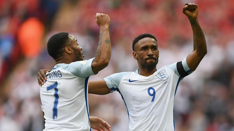 Defoe in the running for World Cup spot, says Southgate