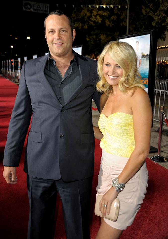 "<a href=""http://movies.yahoo.com/movie/contributor/1800018691"">Vince Vaughn</a> and <a href=""http://movies.yahoo.com/movie/contributor/1808422842"">Malin Akerman</a> at the Los Angeles Premiere of <a href=""http://movies.yahoo.com/movie/1810045875/info"">Couples Retreat</a> - 10/05/2009"