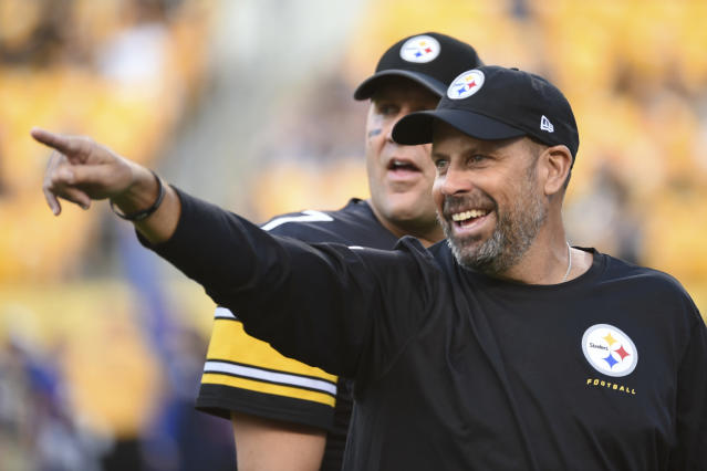 Offensive coordinator Todd Haley won't return to Pittsburgh next season. (AP)