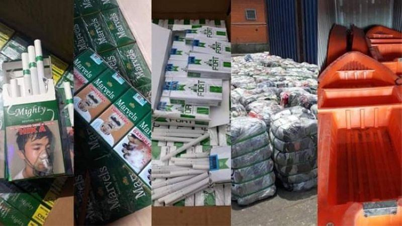 Customs seizes P184M worth of illegal shipments in September