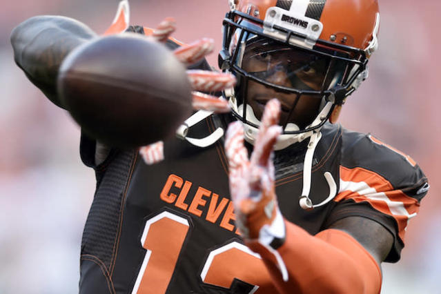 After an extended hiatus from football, a matured Josh Gordon caught back on quickly in a handful of games last year. What are his fantasy expectations in 2018? (AP Photo/David Richard)
