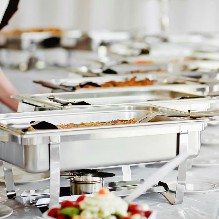 """<p>""""Going up for seconds before everyone has had their first plate is incredibly rude,"""" says Lumley. Weddings are no different than any other function so make sure everyone gets their fair share before you get extra.</p>"""