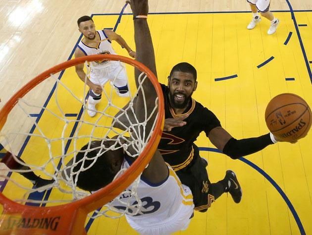 This used to be Kyrie Irving's playground. (Getty Images)