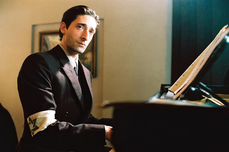 """<p>Pianist Wladyslaw Szpilman is sent to a Warsaw ghetto as World War II takes flight. To survive, he hides among the ruins for years until the moment the concentration-camp prisoners are freed.</p> <p>Watch <a href=""""https://www.netflix.com/title/60025061"""" class=""""link rapid-noclick-resp"""" rel=""""nofollow noopener"""" target=""""_blank"""" data-ylk=""""slk:The Pianist""""><strong>The Pianist</strong></a> on Netflix now.</p>"""