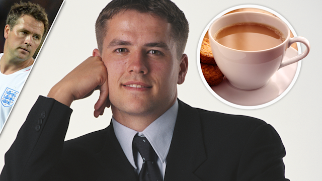 Storm in a tea cup: Former Liverpool striker Michael Owen is in hot water!