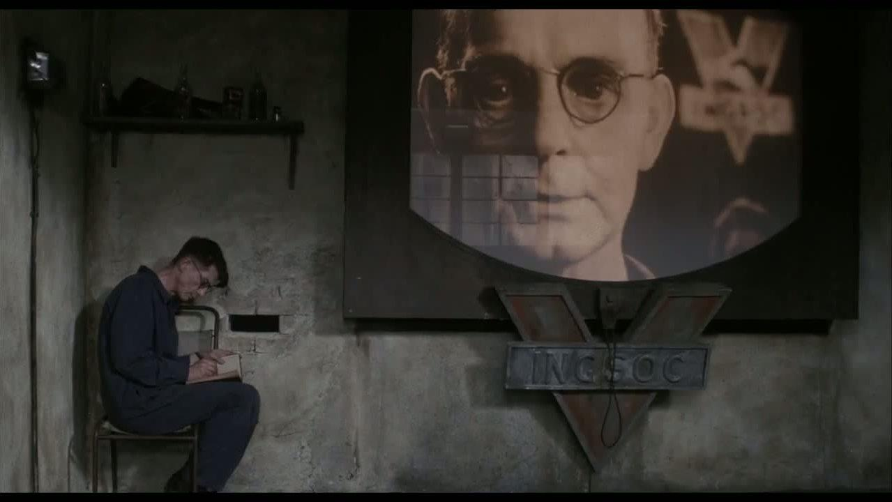 <p>Hurt's role in the dystopian sci-fi movie released in the same year as its title is not only well acted, but scarily relevant today with its tale of a totalitarian future society. </p>
