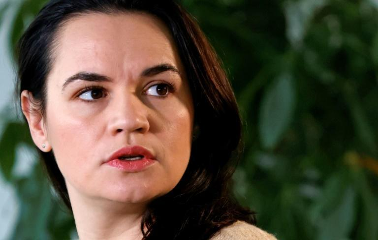 Belarus opposition leader Svetlana Tikhanovskaya has called for EU sanctions against businesses that support Lukashenko's government