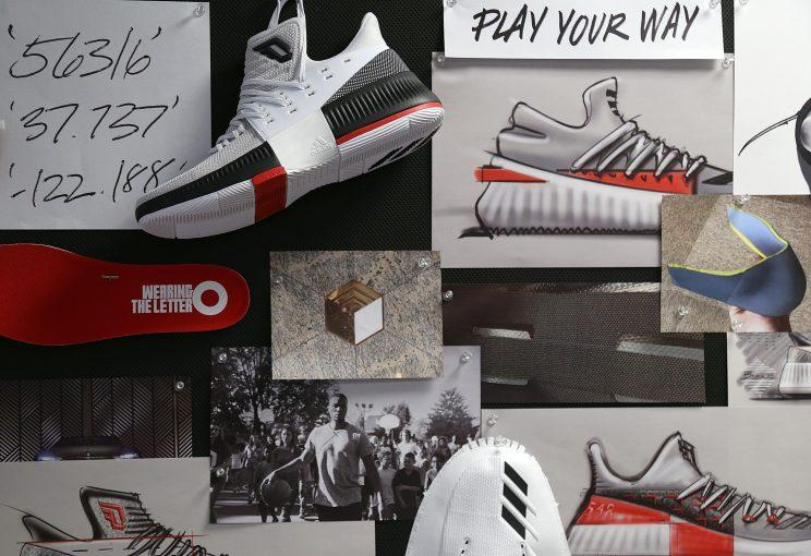 huge discount 07cfb baac8 The concept wall of the Dame 3. (Nick DePaula The Vertical)