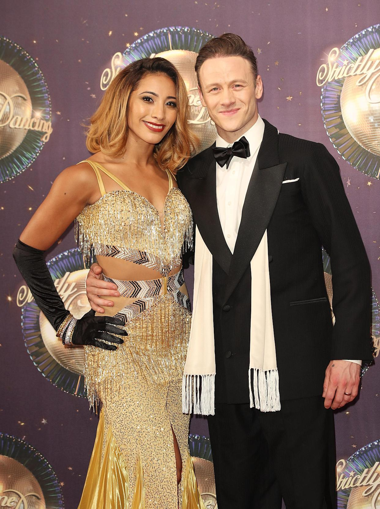 Karen Hauer and Kevin Clifton split in 2018. (Photo by Mike Marsland/Mike Marsland/WireImage)