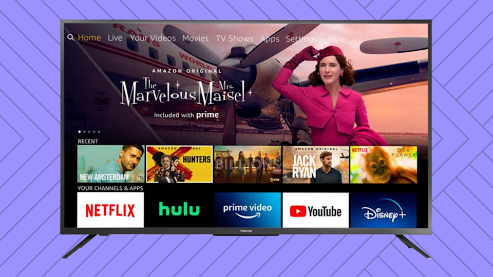 Early Prime Day deal: Snag this incredible 50-inch 4K smart TV for $120 off! (Photo: Amazon)