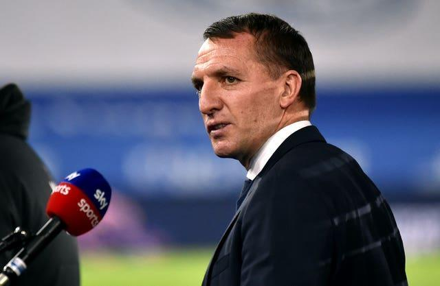 Brendan Rodgers is confident Leicester can cope