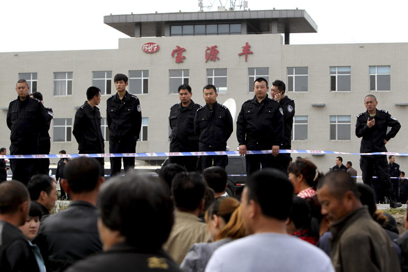 Safety at deadly China plant 'extremely chaotic'